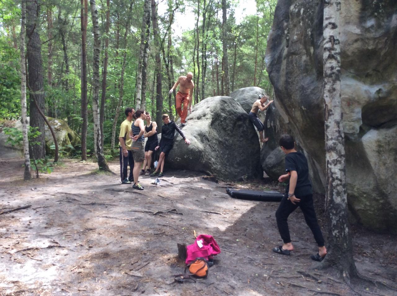 Les beaux rochers d'Isatis
