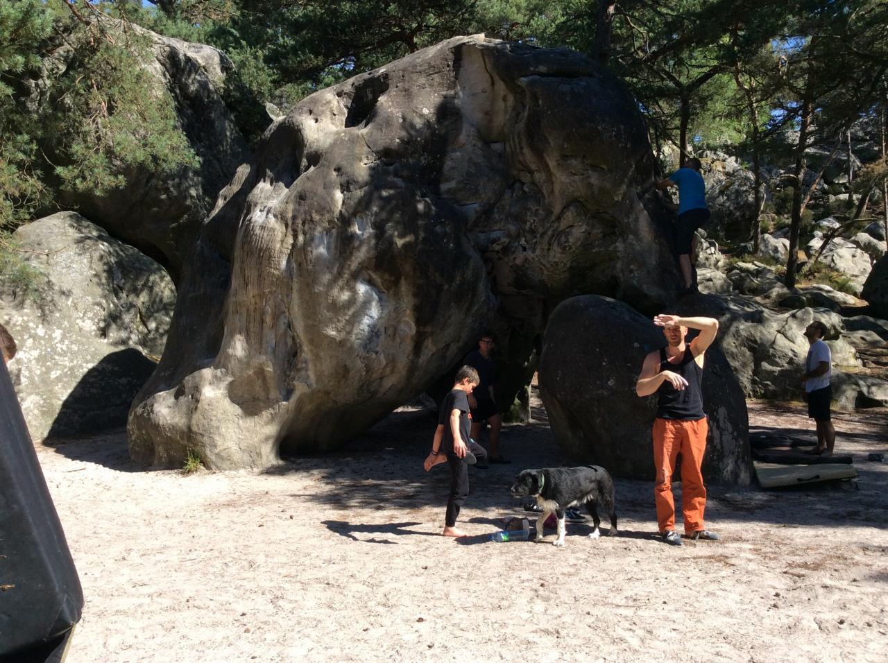 Il est où le rocher de l'Elephant ?