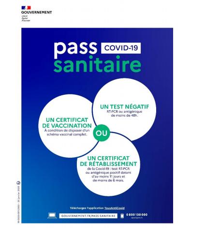 Pass sanitaire 03