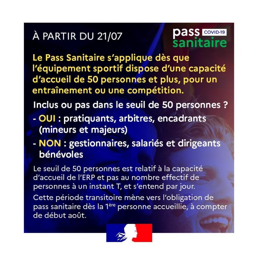 Pass sanitaire 21juillet2021